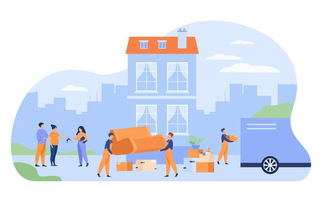 Selitveni servis vedno nudi svojo storitev in pomoč pri opravljanju selitve.